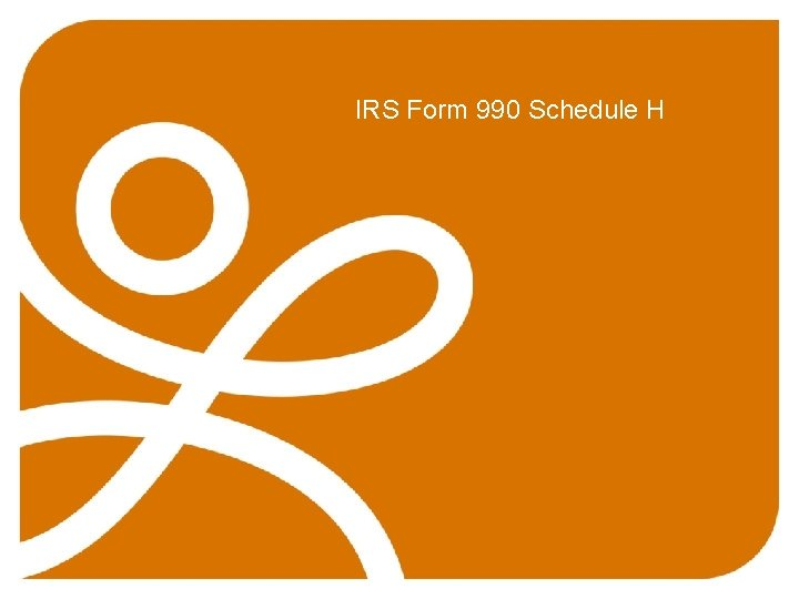 IRS Form 990 Schedule H