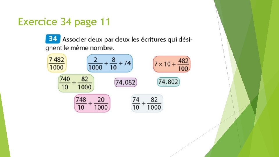 Exercice 34 page 11