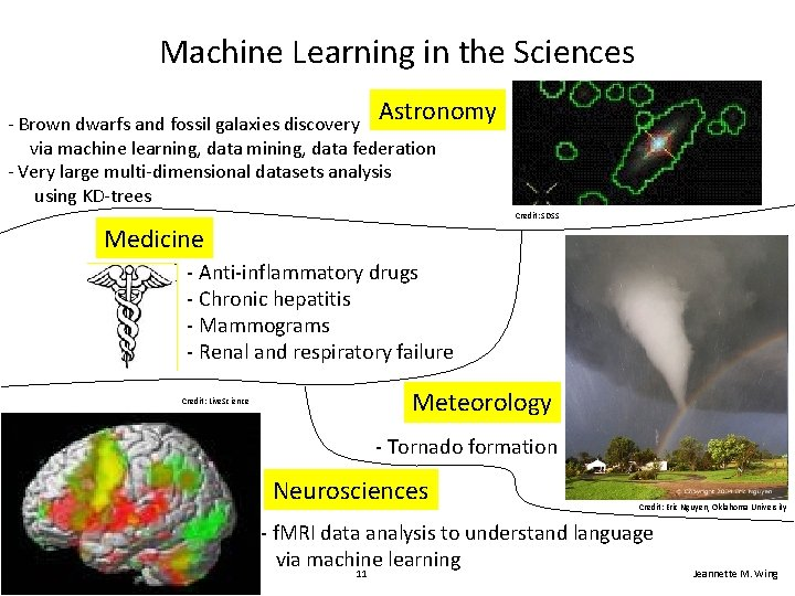 Machine Learning in the Sciences Astronomy - Brown dwarfs and fossil galaxies discovery via