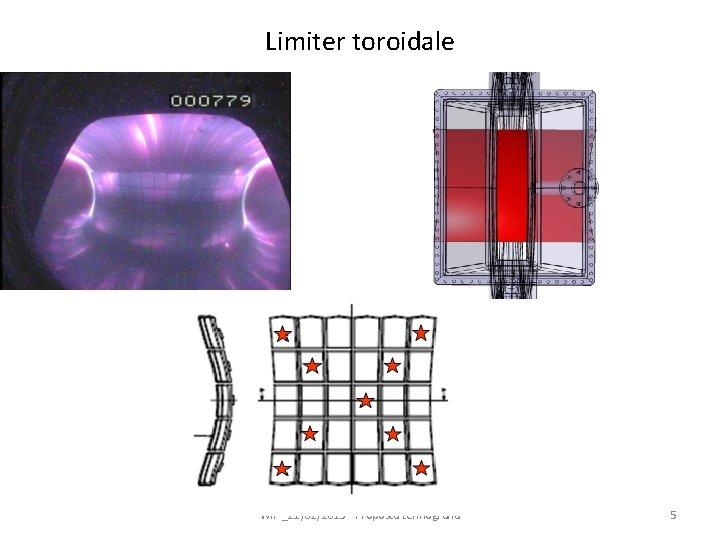 Limiter toroidale WIP _21/02/2013 - Proposta termografia 5