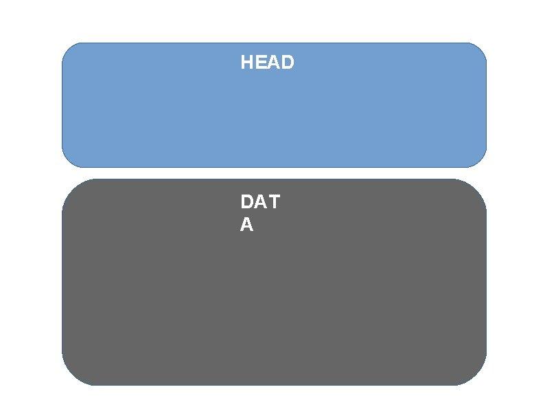 HEAD DAT A