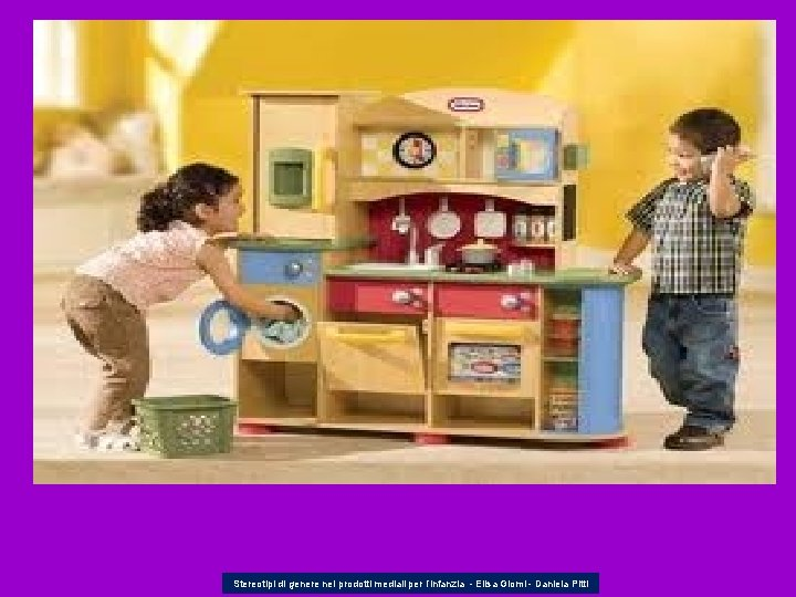 Stereotipi di genere nei prodotti mediali per l'infanzia - Elisa Giomi - Daniela Pitti