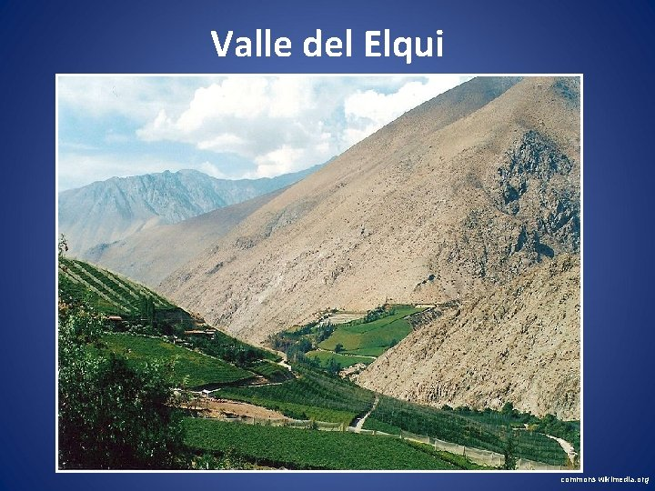 Valle del Elqui commons wikimedia. org