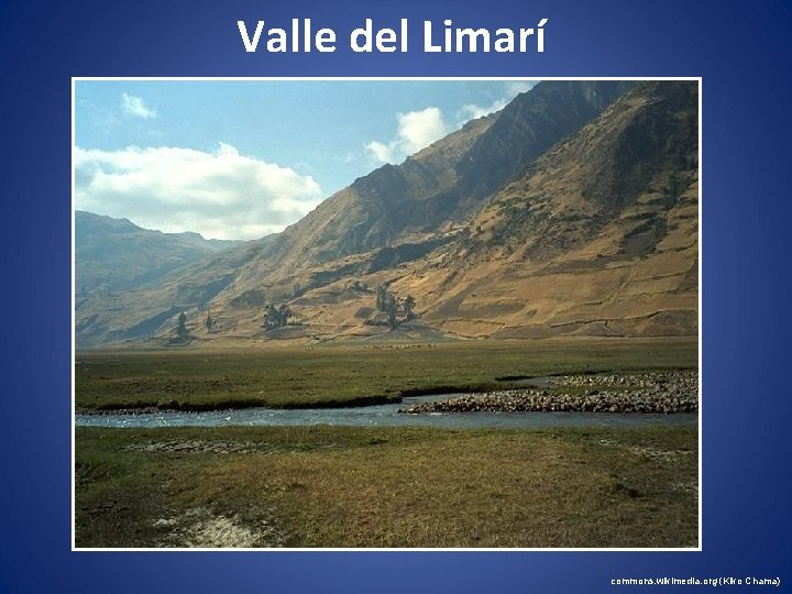 Valle del Limarí commons. wikimedia. org (Kiko Chama)