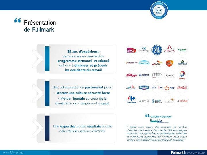 Présentation de Fullmark