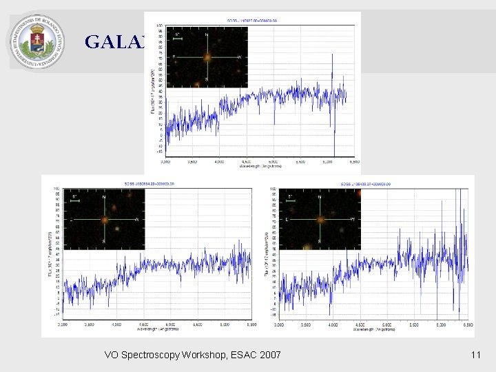 GALAXIES VO Spectroscopy Workshop, ESAC 2007 11