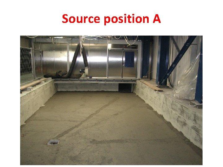 Source position A