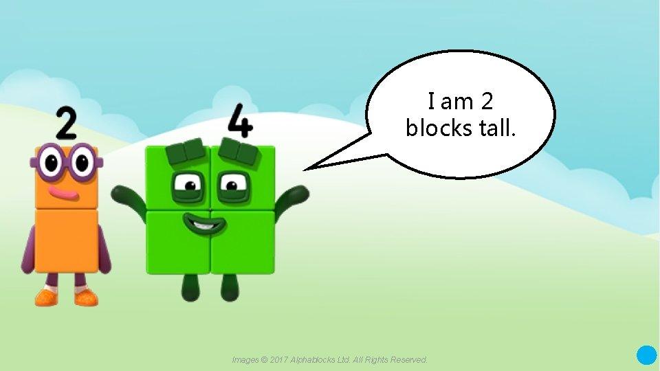 I am 2 blocks tall. A blue dot in the corner of a slide