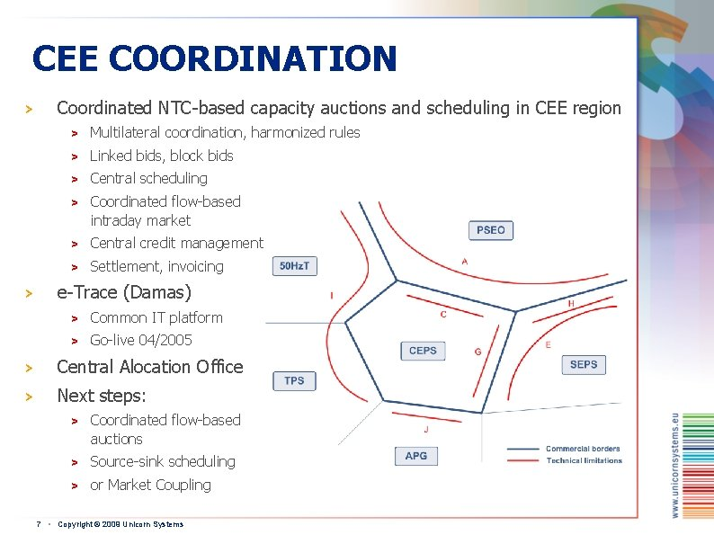 CEE COORDINATION > > Coordinated NTC-based capacity auctions and scheduling in CEE region >
