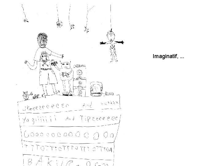 Imaginatif, . . .