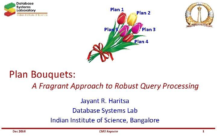 Plan 1 Plan 5 Plan 2 Plan 3 Plan 4 Plan Bouquets: A Fragrant