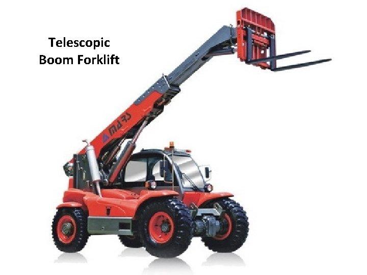 Telescopic Boom Forklift