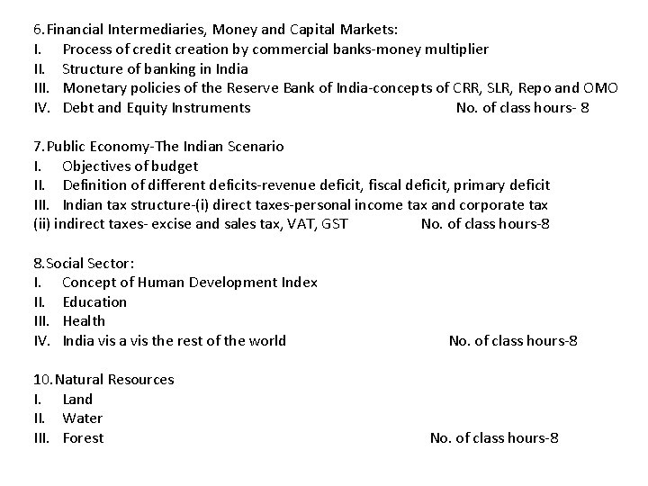 6. Financial Intermediaries, Money and Capital Markets: I. Process of credit creation by commercial