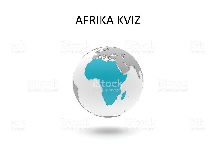AFRIKA KVIZ