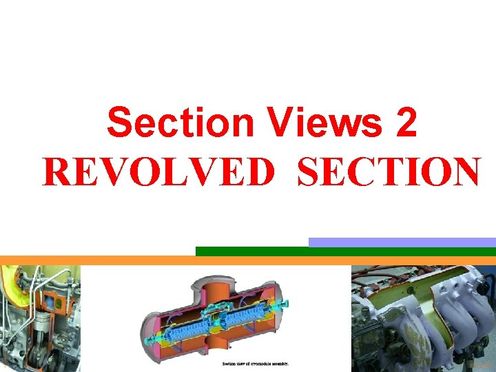 Section Views 2 REVOLVED SECTION