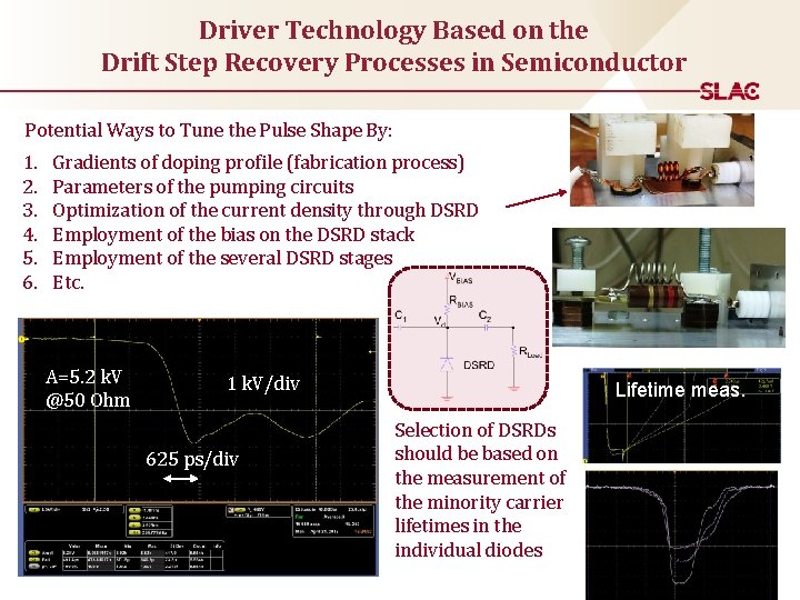 Driver Technology Based on the Drift Step Recovery Processes in Semiconductor Potential Ways to