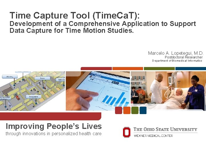 Time. Ca. T Time Capture Tool (Time. Ca. T): Development of a Comprehensive Application