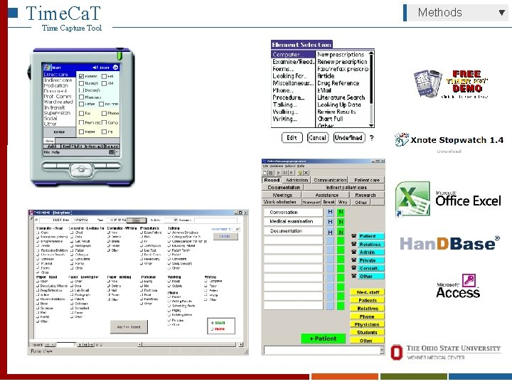 Time. Ca. T Time Capture Tool Methods