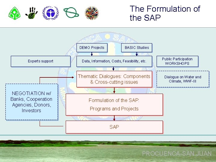 The Formulation of the SAP DEMO Projects Experts support BASIC Studies Data, Information, Costs,