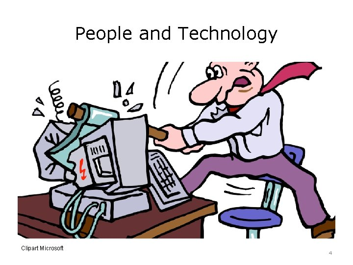 People and Technology Clipart Microsoft 4