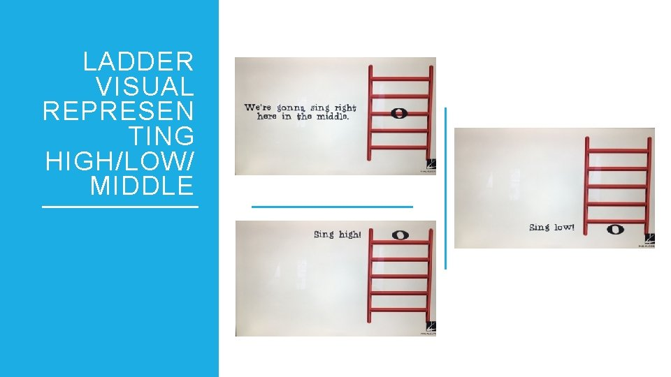 LADDER VISUAL REPRESEN TING HIGH/LOW/ MIDDLE