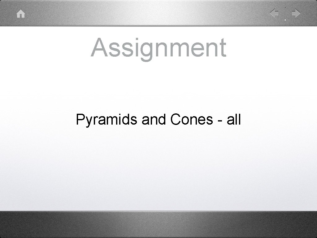 Assignment Pyramids and Cones - all