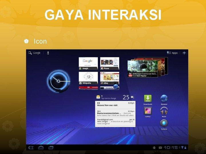 GAYA INTERAKSI Icon