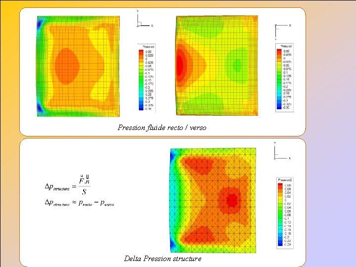 Pression fluide recto / verso Delta Pression structure