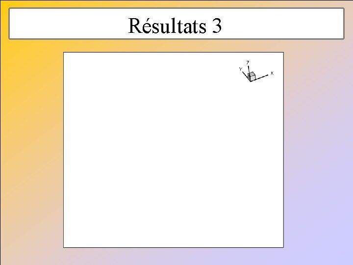 Résultats 3