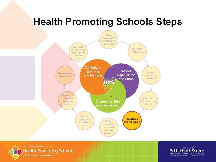 Health Promoting Schools Steps