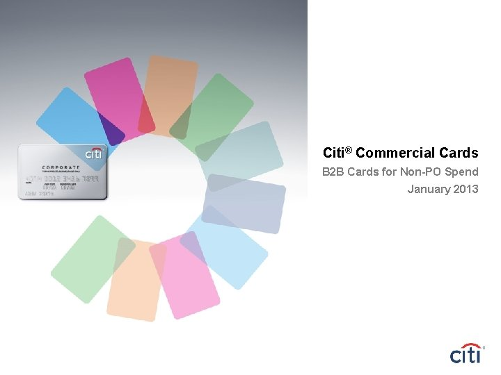 Citi Commercial Cards B 9 B Cards for