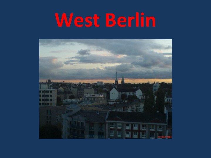 West Berlin