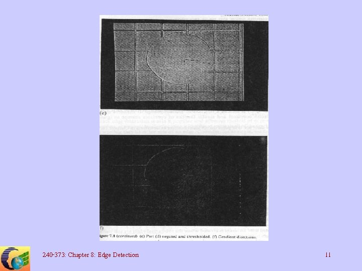 240 -373: Chapter 8: Edge Detection 11
