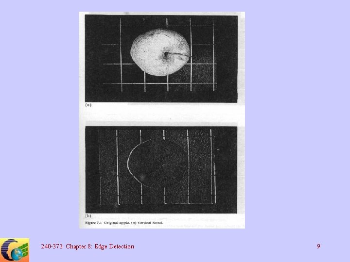 240 -373: Chapter 8: Edge Detection 9