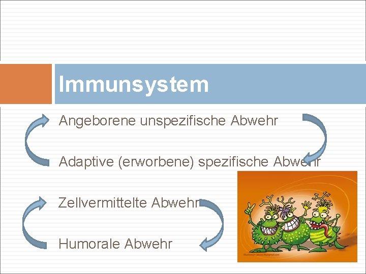 Immunabwehr humorale was ist Zelluläre immunantwort