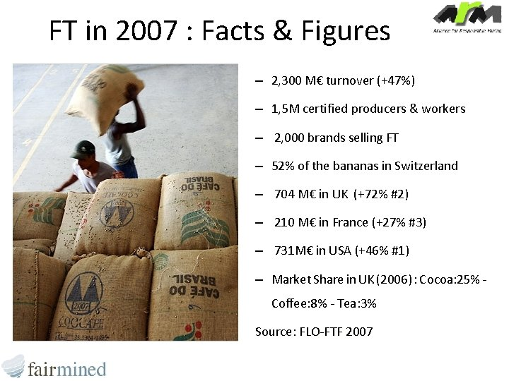 FT in 2007 : Facts & Figures – 2, 300 M€ turnover (+47%) –