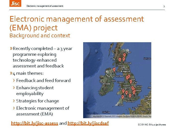 Electronic management of assessment 3 Electronic management of assessment (EMA) project Background and context