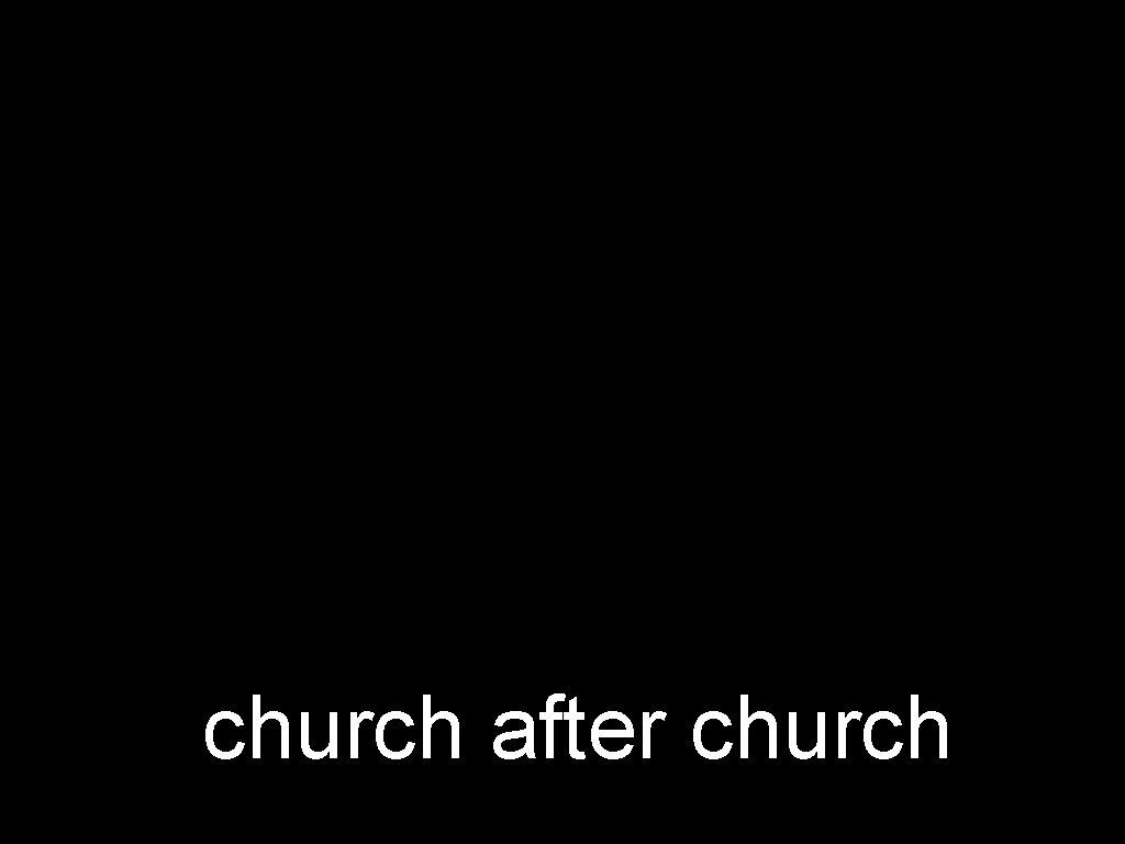 church after church