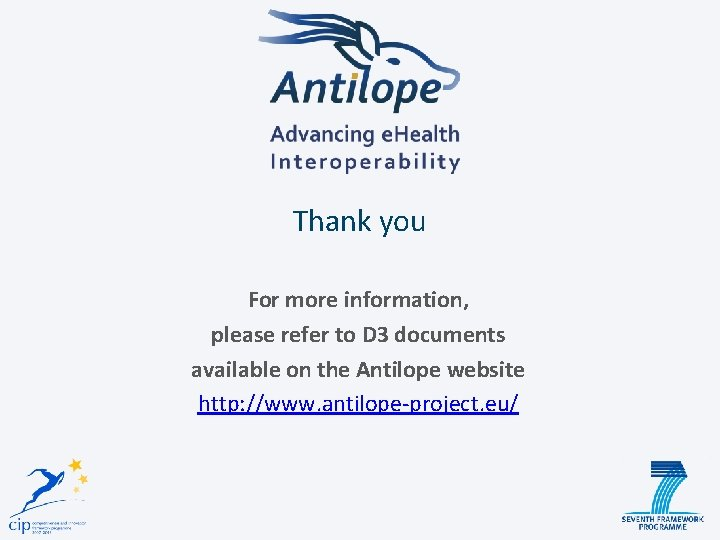 Thank you For more information, please refer to D 3 documents available on the