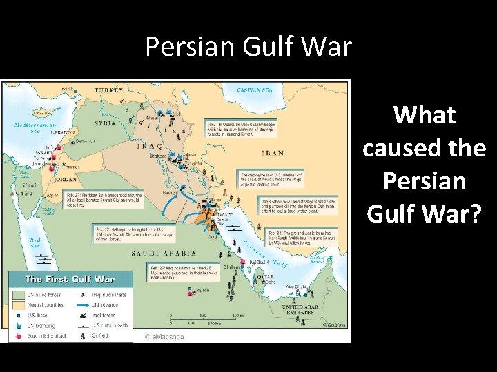 Persian Gulf War What caused the Persian Gulf War?