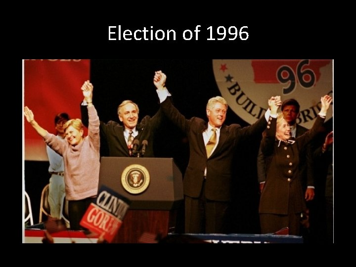 Election of 1996