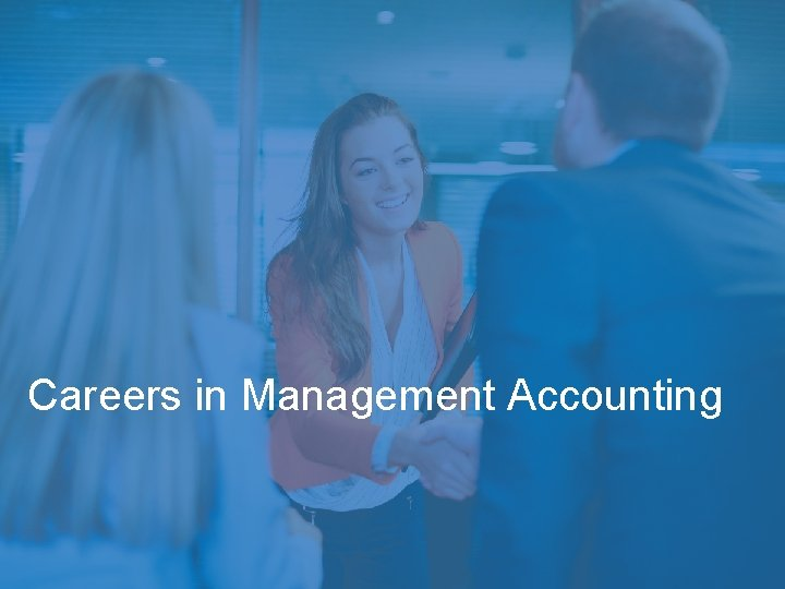 Careers in Management Accounting