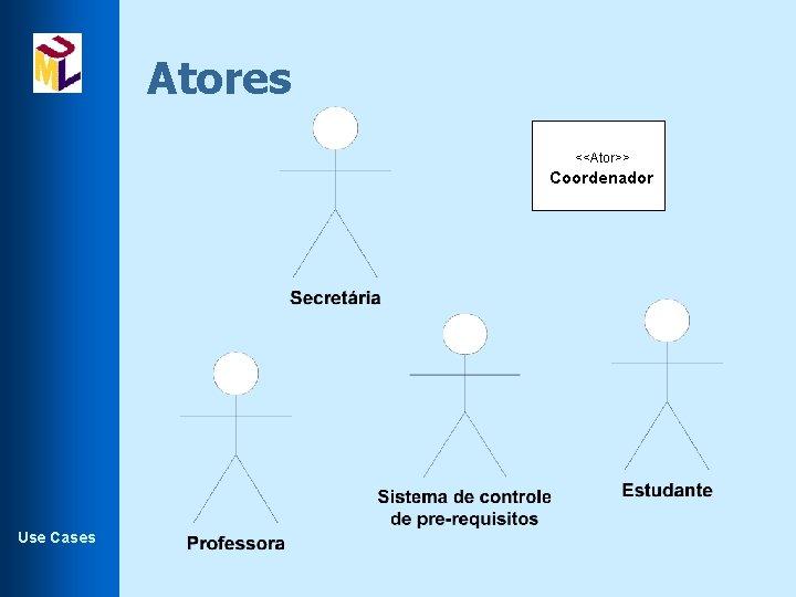 Atores <<Ator>> Coordenador Use Cases