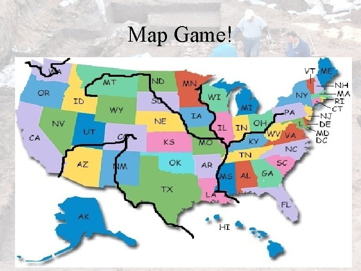 Map Game!
