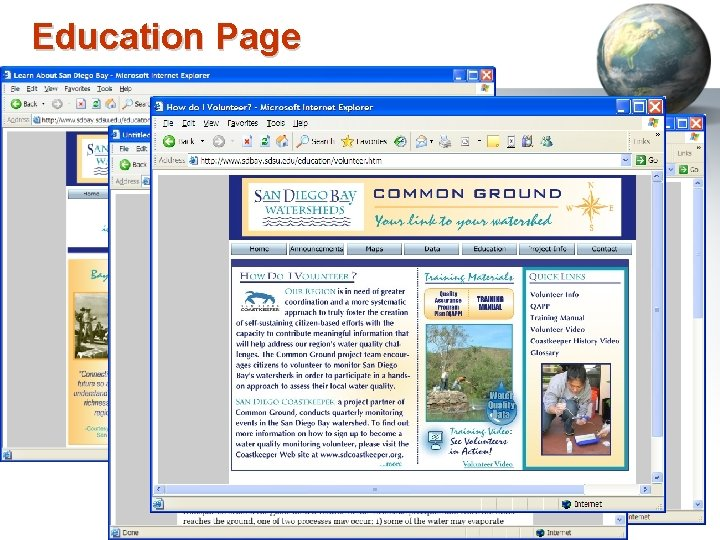 Education Page