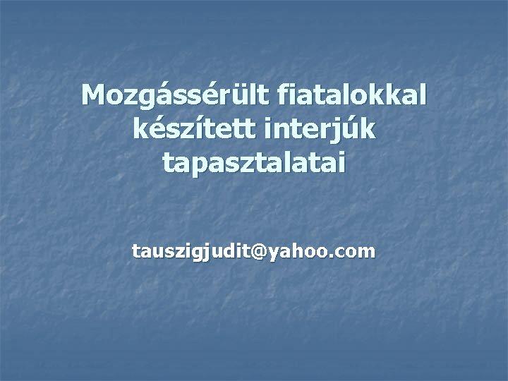 Megtiltották a távmunkát a Yahoo-nál | Profession
