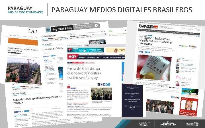 PARAGUAY MEDIOS DIGITALES BRASILEROS