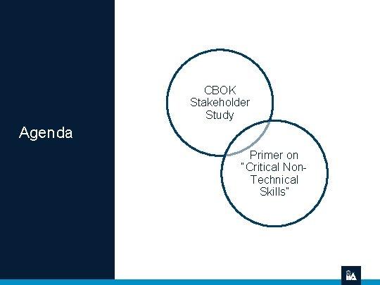 "CBOK Stakeholder Study Agenda Primer on ""Critical Non. Technical Skills"""