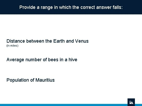 Provide a range in which the correct answer falls: Distance between the Earth and