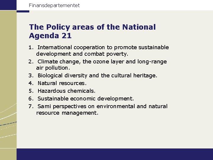 Agenda 21 Norway